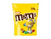 M&M Chocolade pinda's 220gr