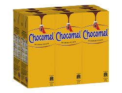 Chocomel Volle chocolademelk 20 cl per pakje, wikkel 6 pakjes